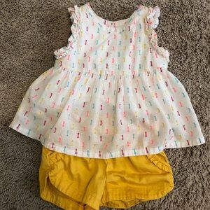 Cute toddler girls outfit